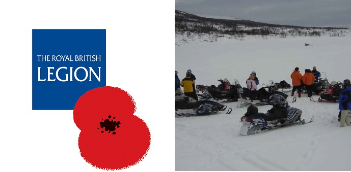 Louise's New Challenge: Arctic Survival Event to support the Royal British Legion, 28 Feb – 7 March 2021